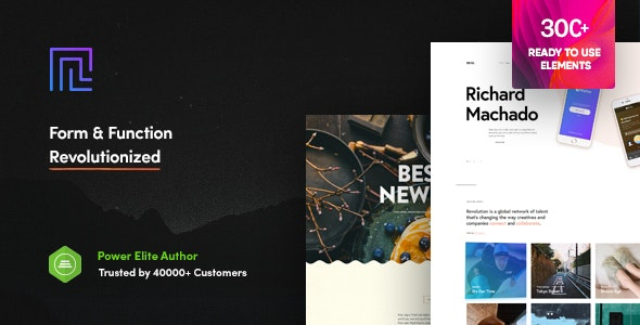 Revolution - Creative Multipurpose WordPress Theme - Business Corporate