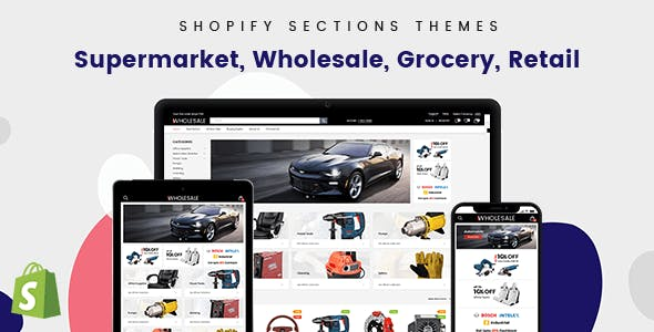 Wholesale - Mobile UI/UX Optimized Shopify Theme For B2B & B2C