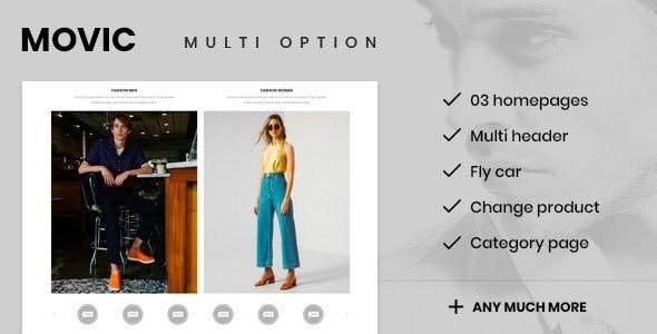 Movic Prestashop 1.7.5.x Theme for Fashion | Clothing| Bags | Shoes | Accessories - PrestaShop eCommerce