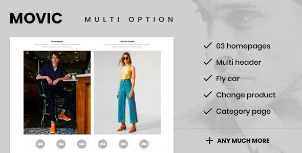 Movic - Prestashop 1.7.6.x Theme for Fashion & Accessories Shop
