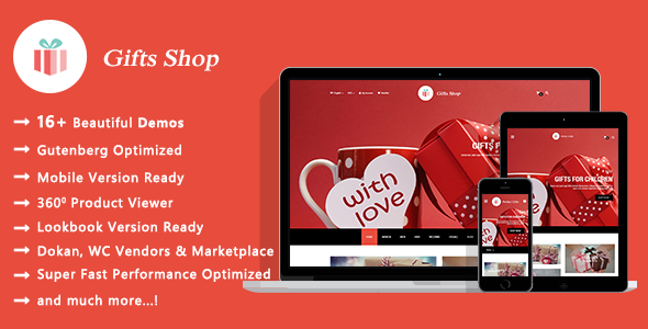 Gifts Shop | Handmade Souvenirs WooCommerce WordPress Theme - WooCommerce eCommerce