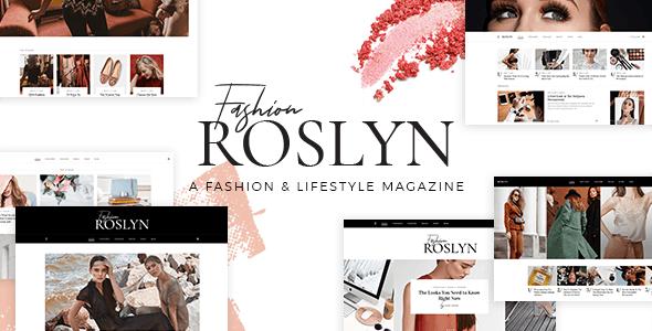 Roslyn - Blogger & Fashion Magazine Theme
