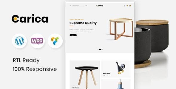 Carica - Furniture Handmade WooCommerce Theme - WooCommerce eCommerce