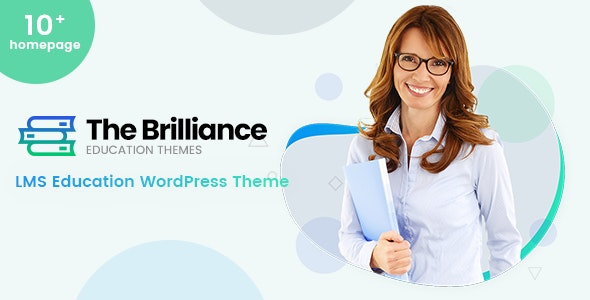 The Brilliance - LMS Education WordPress Theme - Education WordPress
