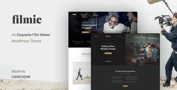 Filmic - Movie Studio & Film Maker WordPress Theme - Film & TV Entertainment