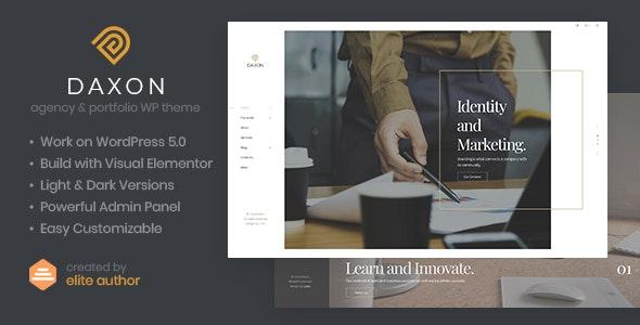 Daxon - Agency & Portfolio WordPress Theme - Portfolio Creative