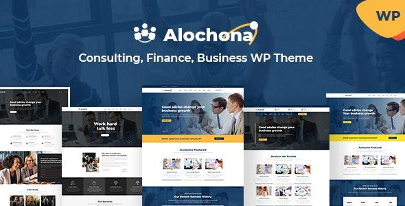 Alochona - Business Consulting WordPress Theme + RTL - Business Corporate