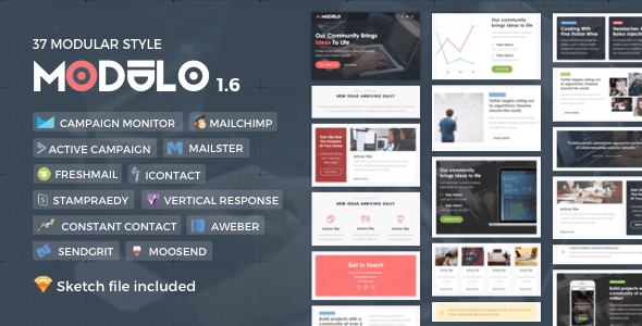 Modulo   Responsive Email - Newsletters Email Templates