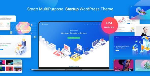 Atomlab - Startup Landing Page WordPress Theme - Business Corporate