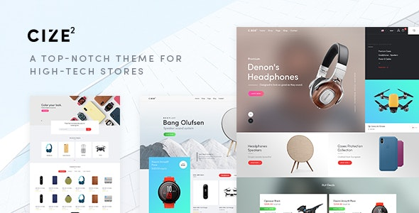 Cize - Electronics Store WooCommerce Theme (RTL Supported) - WooCommerce eCommerce