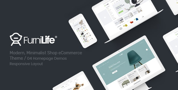 Furnilife - Furniture, Decorations & Supplies Magento Theme - Miscellaneous Magento