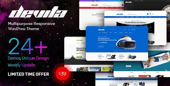Devita - Multipurpose Theme for WooCommerce WordPress - WordPress