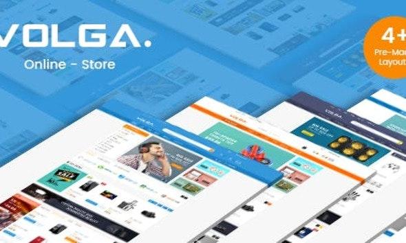 Volga - MegaShop Responsive Magento Theme - Shopping Magento