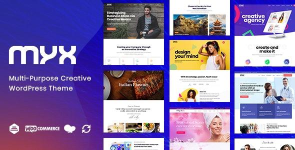 Myx - Business Multi-purpose WordPress Theme - Creative WordPress