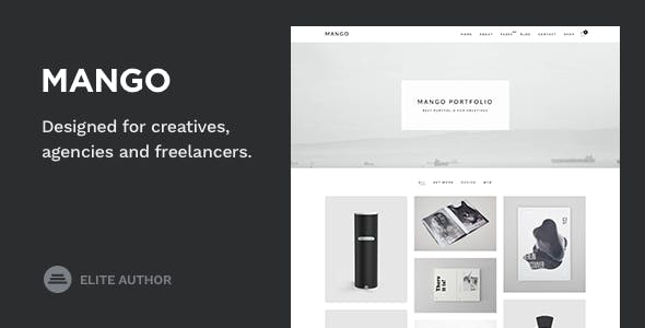 Mango - Portfolio for Creatives - Portfolio Creative
