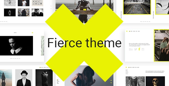 Fierce - Bold Photography Theme - Photography Creative