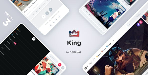 King - Magazine Viral Theme - Blog / Magazine WordPress