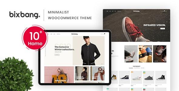 Bixbang - Minimalist eCommerce WordPress Theme for WooCommerce - WooCommerce eCommerce