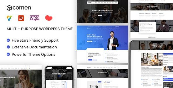 Comen | Multi-purpose Business WordPress Theme - Business Corporate