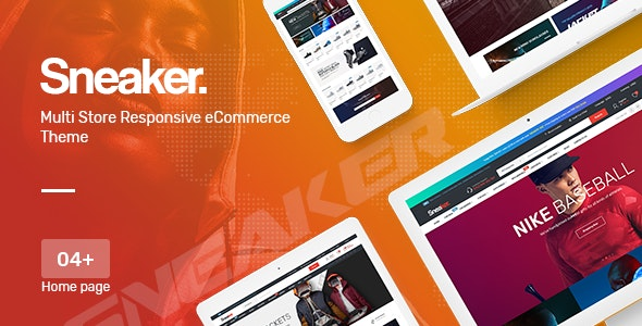 Sneaker - Shoes Responsive OpenCart Theme (Included Color