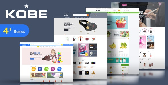 Kobe - Multi Store Responsive Magento Theme - Health & Beauty Magento
