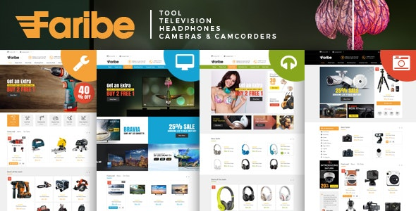 Faribe - Multi Purpose Opencart 3 Theme - Technology OpenCart
