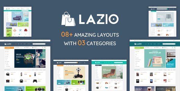 Lazio - Multipurpose Responsive Opencart 2.3 & 3.x Theme