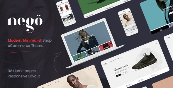 Nego - Minimalist Responsive Opencart 3 Theme - Fashion OpenCart