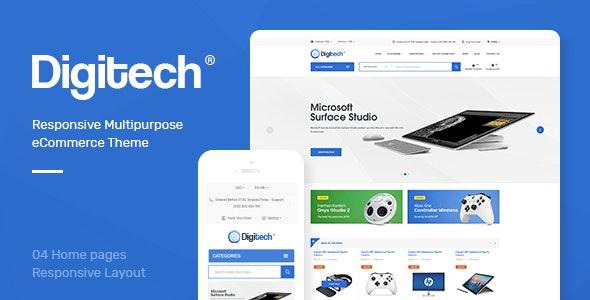 Digitech - Responsive Opencart 3.x Theme - Technology OpenCart