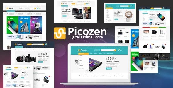 Picozen - Responsive Magento 2 Theme - Technology Magento