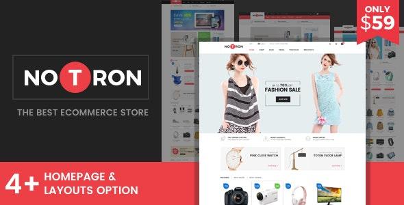 Notron - Responsive Magento Theme - Shopping Magento