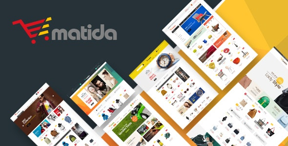 Matida - Multipurpose Responsive Magento Theme - Technology Magento