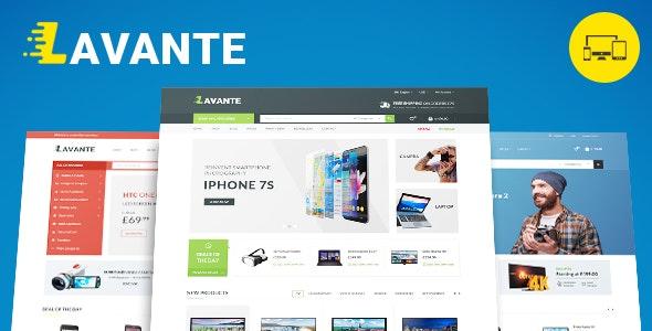 Lavante - Responsive Magento Theme - Technology Magento