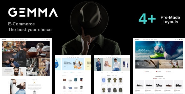 Gemma - Multistore Responsive Magento Theme - Fashion Magento