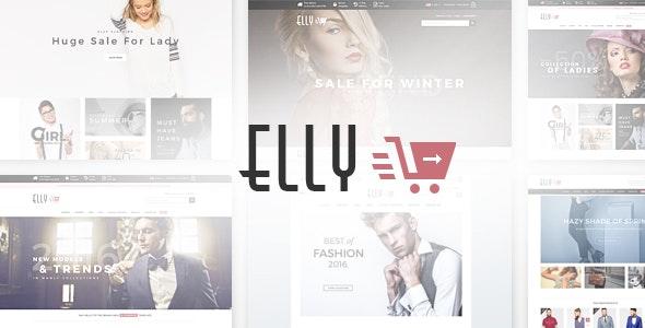 Elly - Multipurpose Responsive Prestashop Theme - Fashion PrestaShop