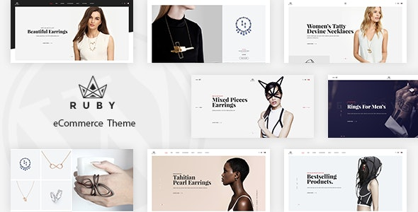 Ruby - Jewelry Store Responsive Magento Theme - Fashion Magento