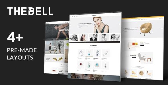Thebell - Multipurpose Responsive Magento Theme - Shopping Magento