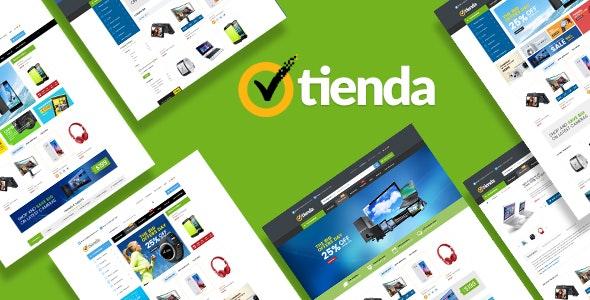 Tienda - Responsive Technology Magento Theme - Technology Magento