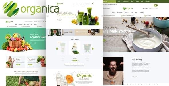 Organica - Organic, Beauty, Natural Cosmetics, Food, Farn and Eco Opencart 2.3 & 3.x - Health & Beauty OpenCart