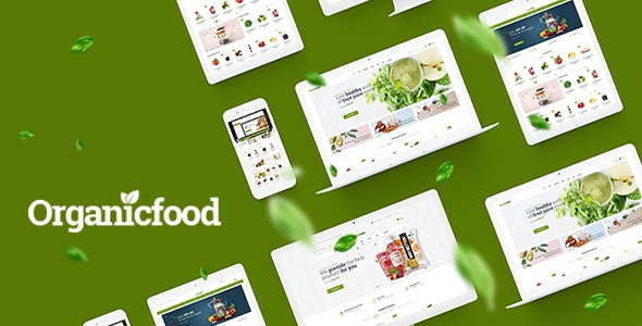OrganicFood - Food, Alcohol, Cosmetics OpenCart Theme (Included Color Swatches) - Health & Beauty OpenCart