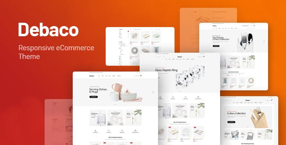 Debaco  - OpenCart Theme (Included Color Swatches)