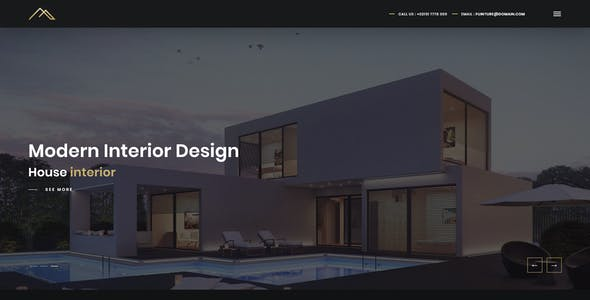 Artha Interactive Interior Template