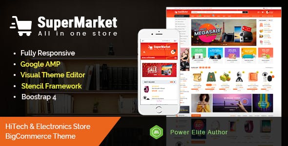 SuperMarket - Multipurpose Creative  Stencil nulled theme download