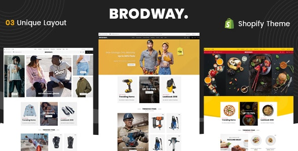Brodway - Sectioned Multipurpose Shopify Theme - Miscellaneous Shopify