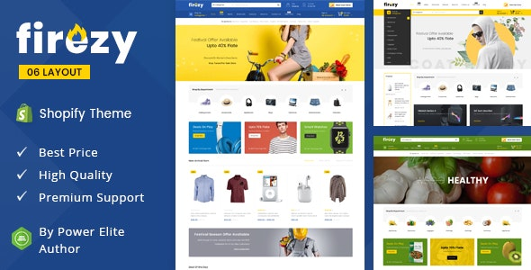 Firezy - Sectioned Multipurpose Shopify Theme - Miscellaneous Shopify