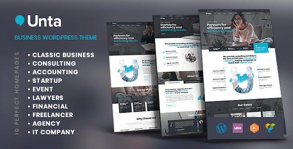 Unta - MultiPurpose Business WordPress