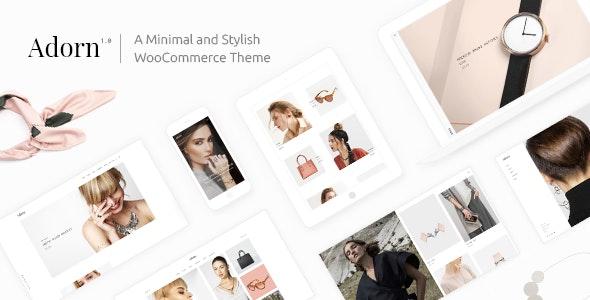 Adorn - Minimal WooCommerce Theme - WooCommerce eCommerce