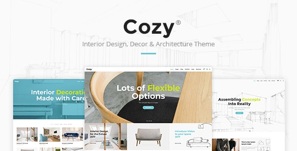 Cozy - Interior Design, Decor & Architecture Theme by Edge