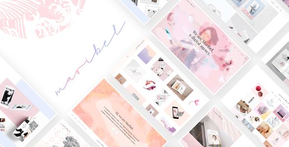 Maribel - Alluring Portfolio Theme for Creatives - Portfolio Creative