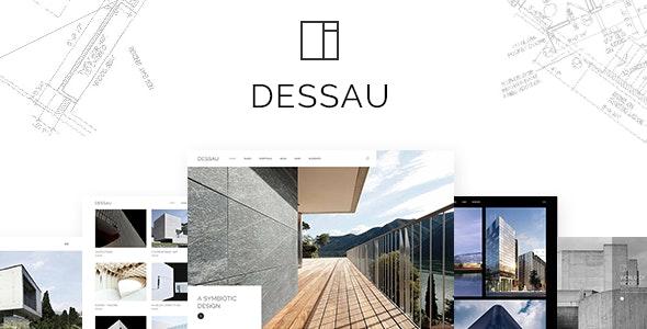 Dessau - Contemporary Theme for Architects and Interior Designers - Portfolio Creative